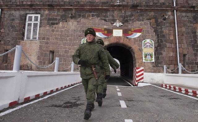 Maniobras militares de Rusia y Armenia