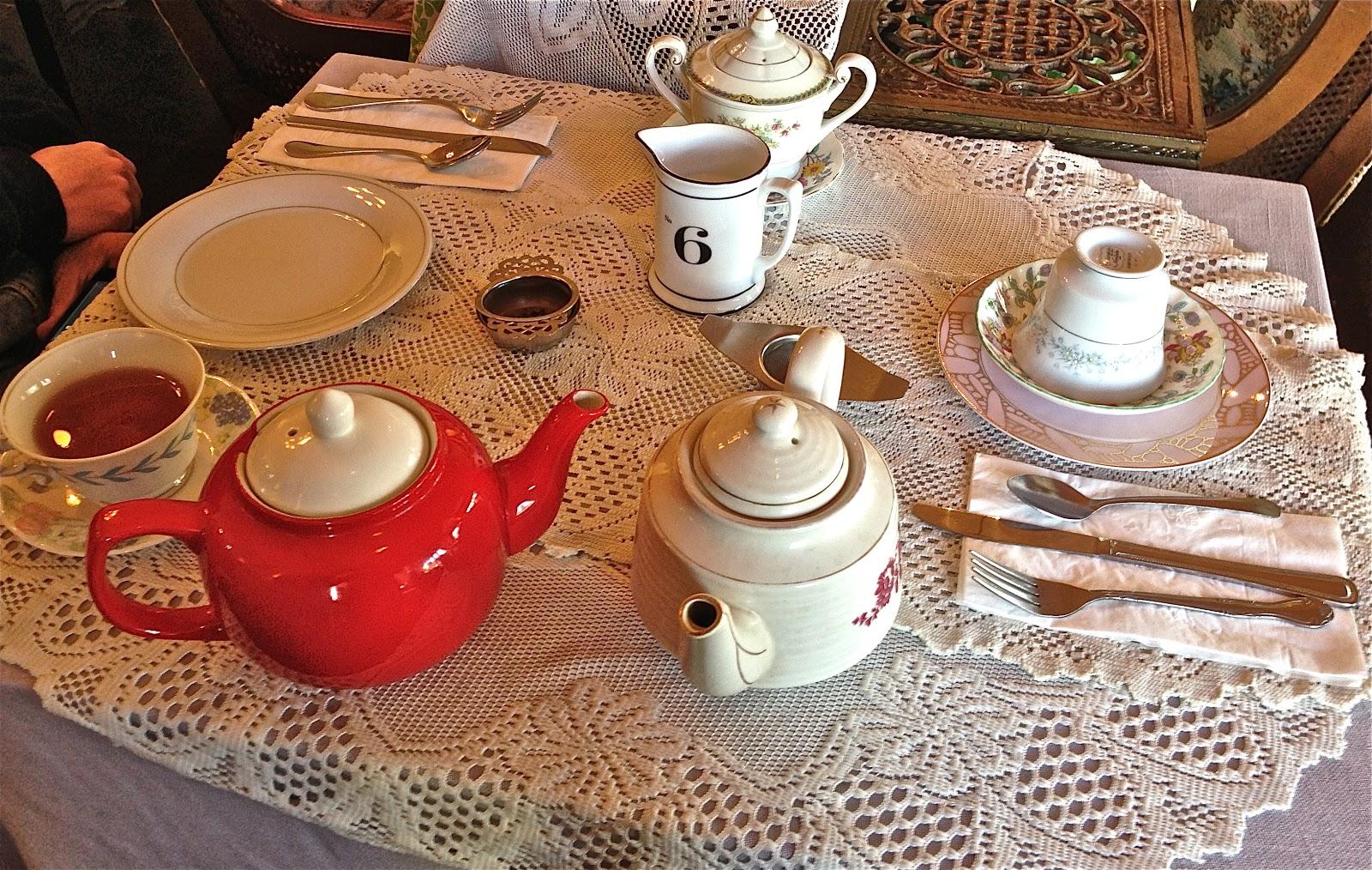 Tea Time Adventures and Other Food Exploits: Lovejoy\'s Tea Room