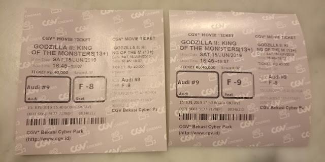 Tiket CGV Bekasi CyberPark