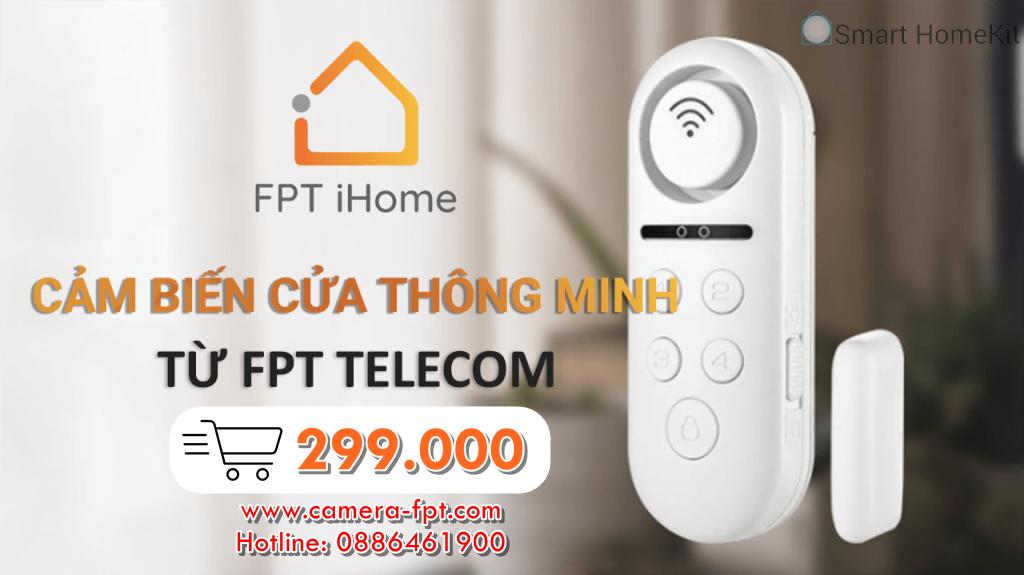 Giá bán chính hãng của Cảm biến cửa FPT iHome