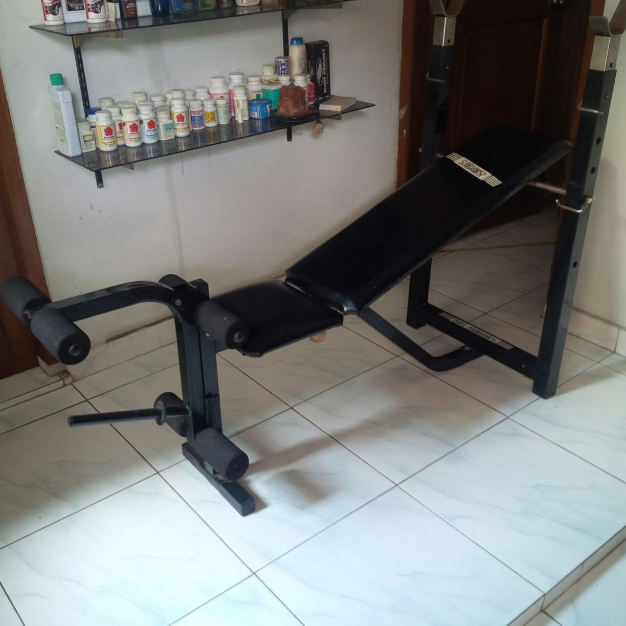 Jual alat fitness bekas jogja