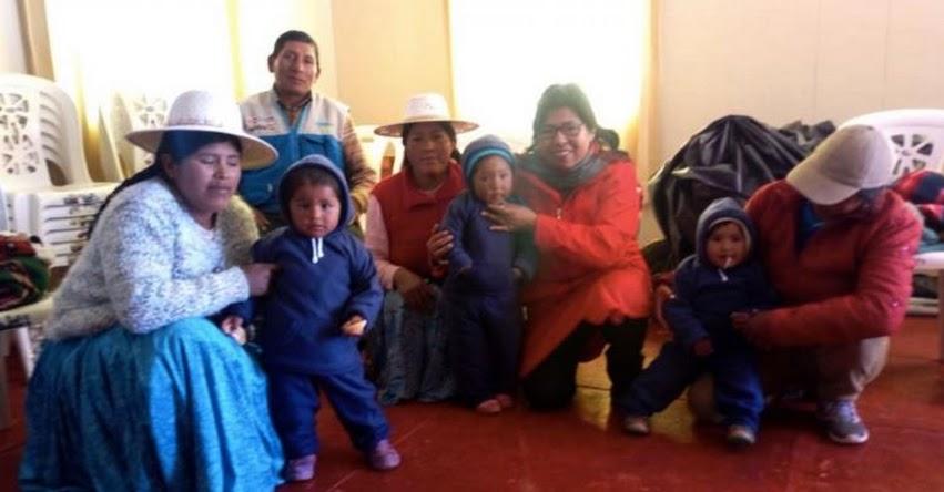CUNA MÁS: Programa social distribuye cerca de 11,000 kits de abrigo en Puno - - www.cunamas.gob.pe