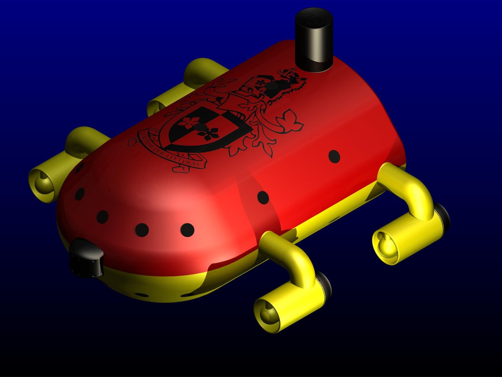 Design Of An AUV(Inventor/Flow simulation solidworks) | WAR Design