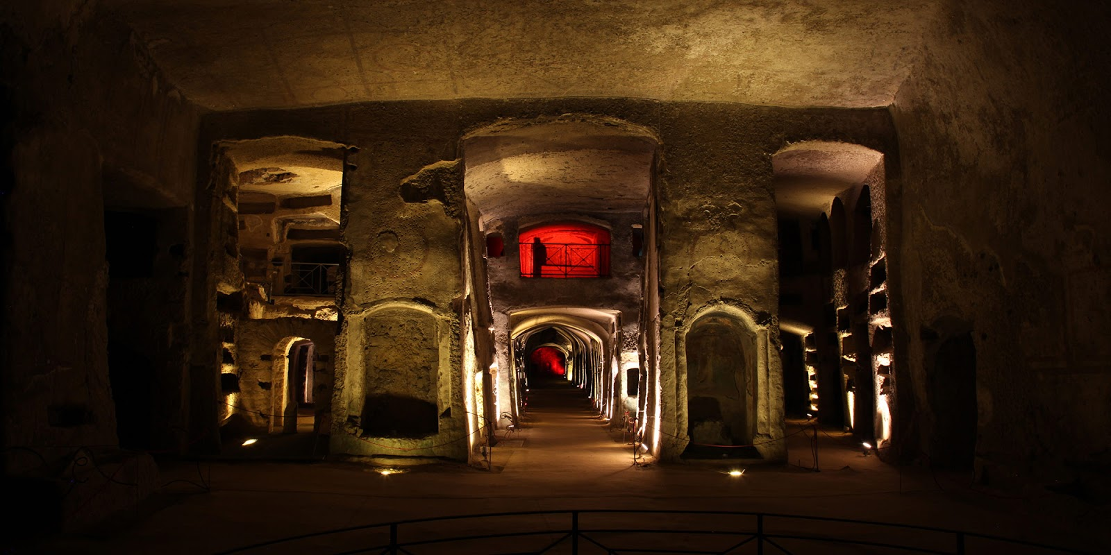 Entrance to the San Gennaro Catacombs
