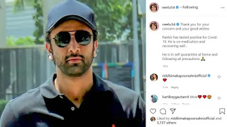 ranbir-kapoor-has-tested-positive-for-covid-19-mother-neetu-kapoor-confirms