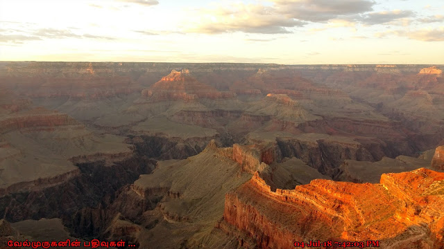 Yavapai Point Sunset View Grand Canyon