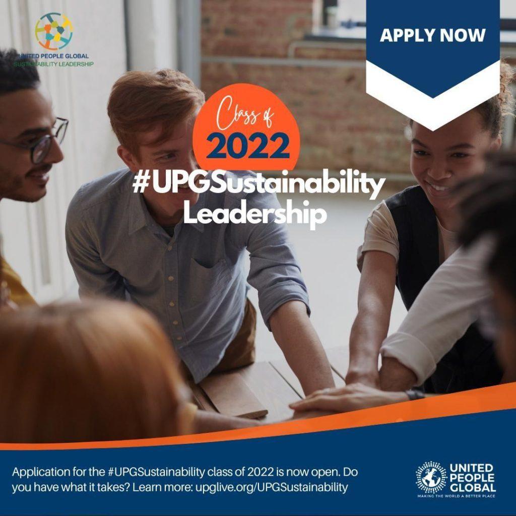 UPG Sustainability Leadership Program 2022 in the USA