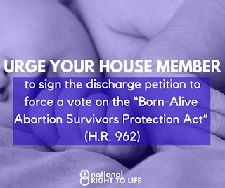 U.S. House Members line up to sign discharge petition on Born-Alive Abortion Survivors Protection Act