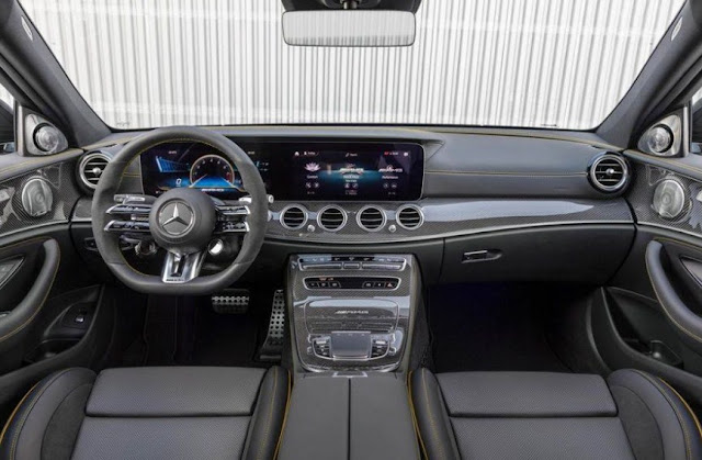 2021 mercedes e63 s wagon interior, steering wheels, dashboard, screen display, features