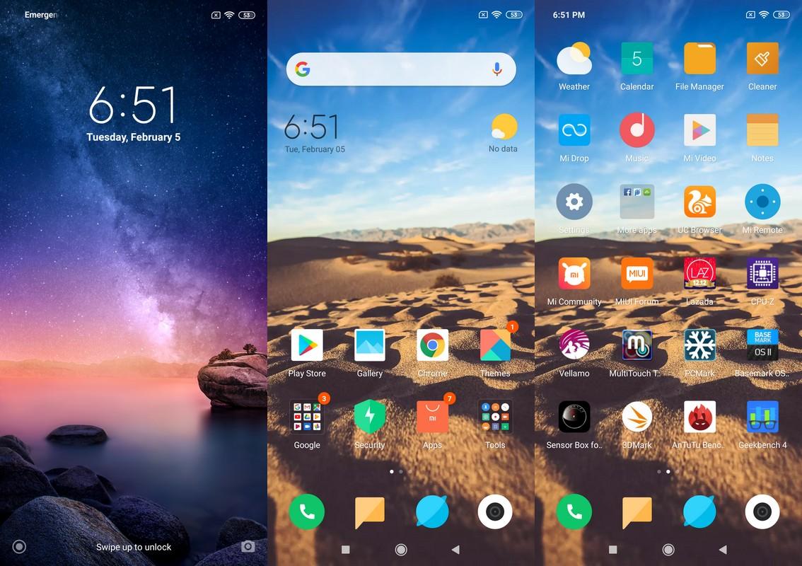 Software & Fitur Xiaomi Redmi Note 6 Pro