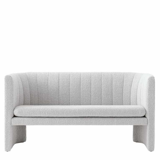soft curved design sofa