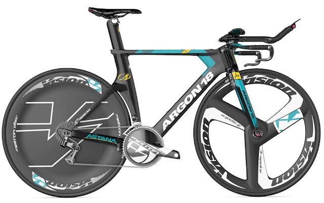 ARGON 18, las nuevas bicis del Astana Pro Team