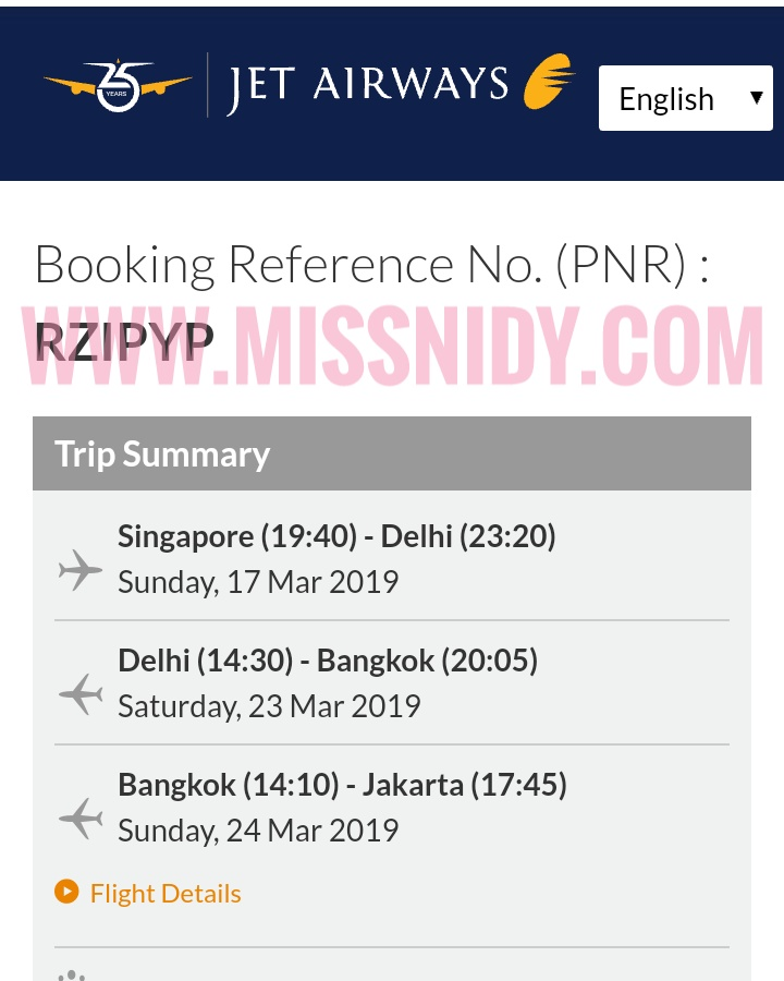 tiket jet airways mendadak di cancel