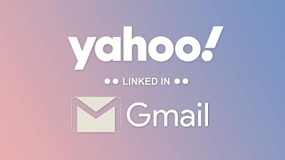 yahoo link gmail