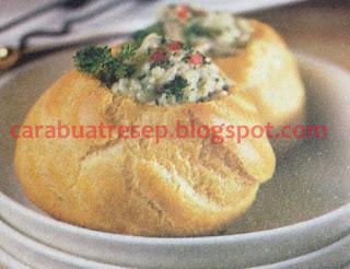 Foto Resep Kue Sus Basah Ragout Ayam