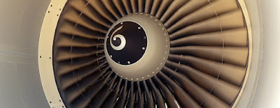 Exemple de canvi d'àleps en un turboreactor d'un A320