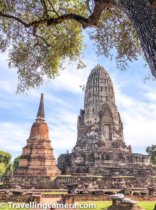 Other temples to walk around Wat Ratchaburana are -    Wat Mahathat  Wat Chaiwatthanaram  Wat Phra Si Sanphet  Wat Phanan Choeng  Wat Lokaya Sutha   Wat Yai Chai Mongkhon    And don't miss walking map of main temples to be explored in Ayutthaya, Thailand.