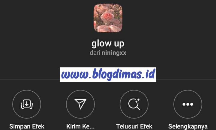 Menghapus Filter IG
