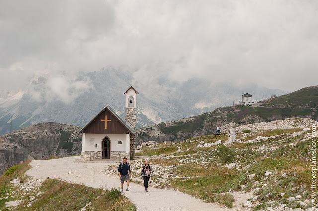 Ermita trekking Tres Cimas de Lavaredo Italia