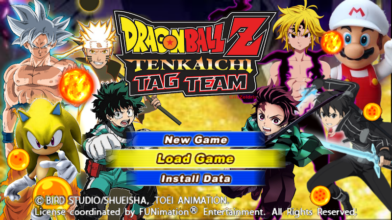 Dragon Ball Z Android Game DBZ TTT MOD BT3 PSP ISO Download