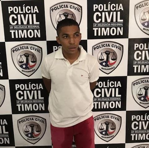 Pai é preso após abusar da filha de 11 anos em Timom-Ma
