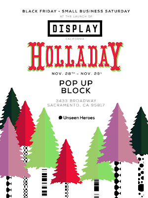 DISPLAY: Holladay on Black Friday/ Small Business Saturday