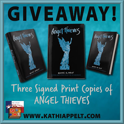 Angel Thieves giveaway graphic