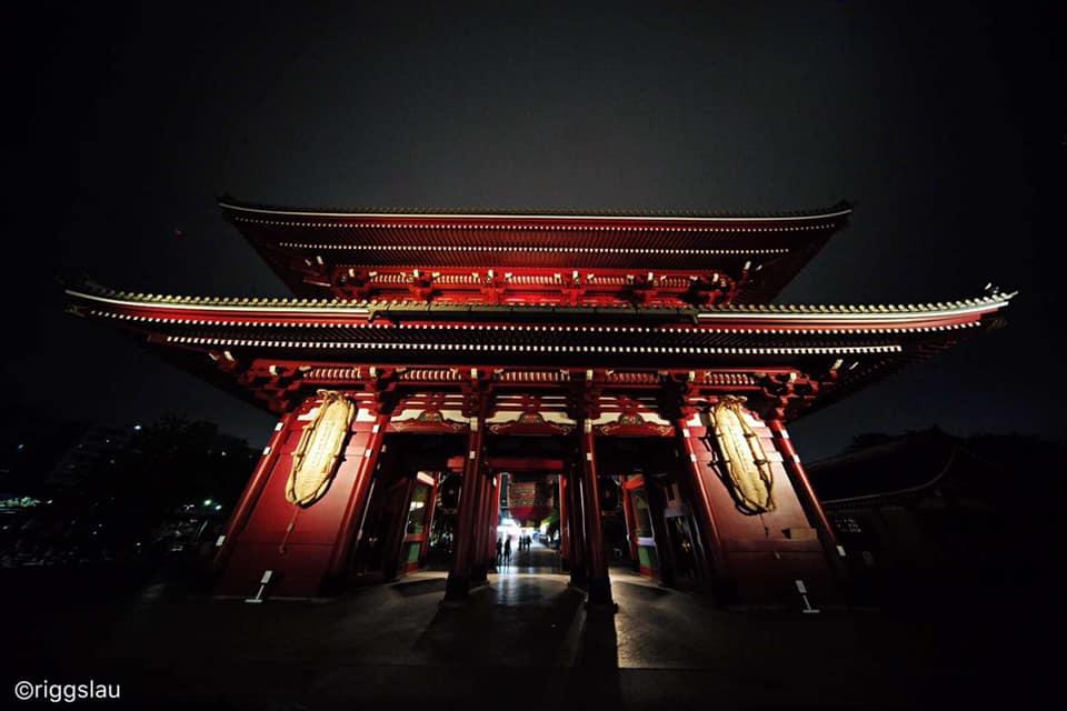 Китайская пагода, снимок сделан с помощью объектива Laowa 9mm f/5.6