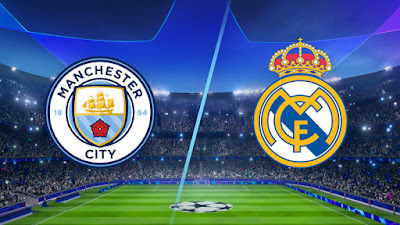 مشاهدة مباراة ريال مدريد ومانشستر سيتي 7-8-2020 بث مباشر في دوري ابطال اوروبا