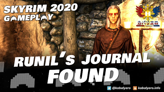 Modded SKYRIM 2020 Gameplay! Find RUNIL's Journal Inside Bloated Man's Grotto!