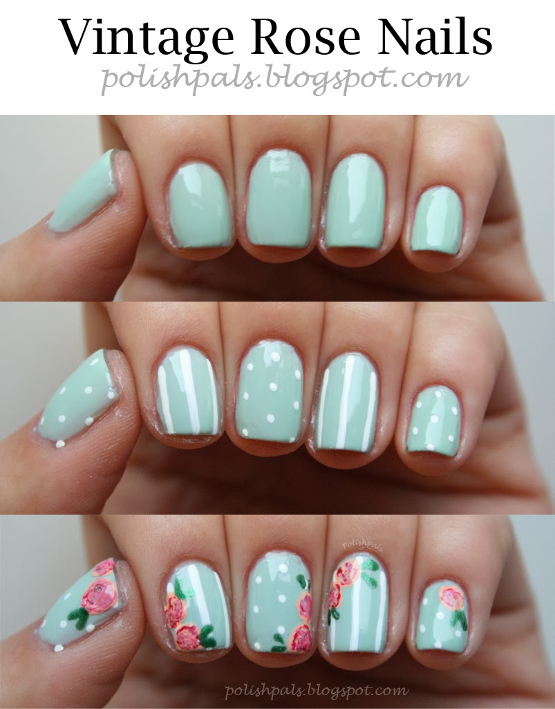 Rose Nail Net: Polish Pals: Your Typical Mint Mani
