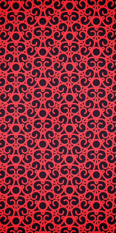 Imagem Preto e Vermelho para Celular