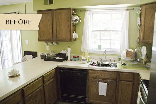 cozinha antes depois