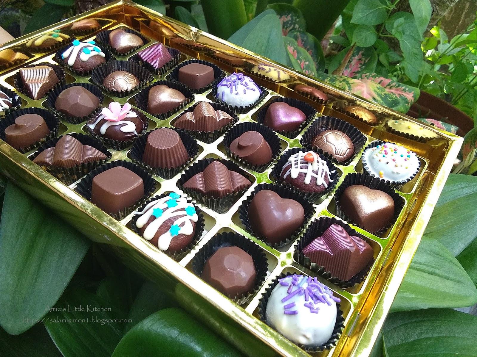 Amie S Little Kitchen Kelas Coklat Homemade