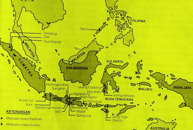 Jenis-jenis Manusia Purba di Indonesia dan Ciri-cirinya