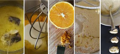 Zubereitung Orangen-Earl-Grey-Madeleines