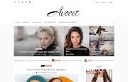 (Free)(Premium) Avocet Blogger Template Themes