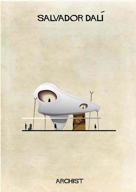もし有名画家が建築物を作ったら?ゴッホ、ピカソ、ダリの建築? ダリ
