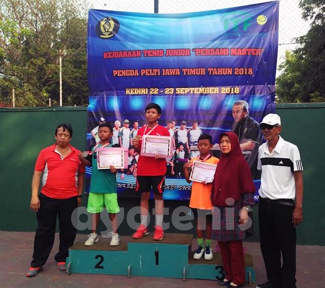 Inilah Para Juara Kejuaraan Tenis Yunior Persami Master Jawa Timur (1)
