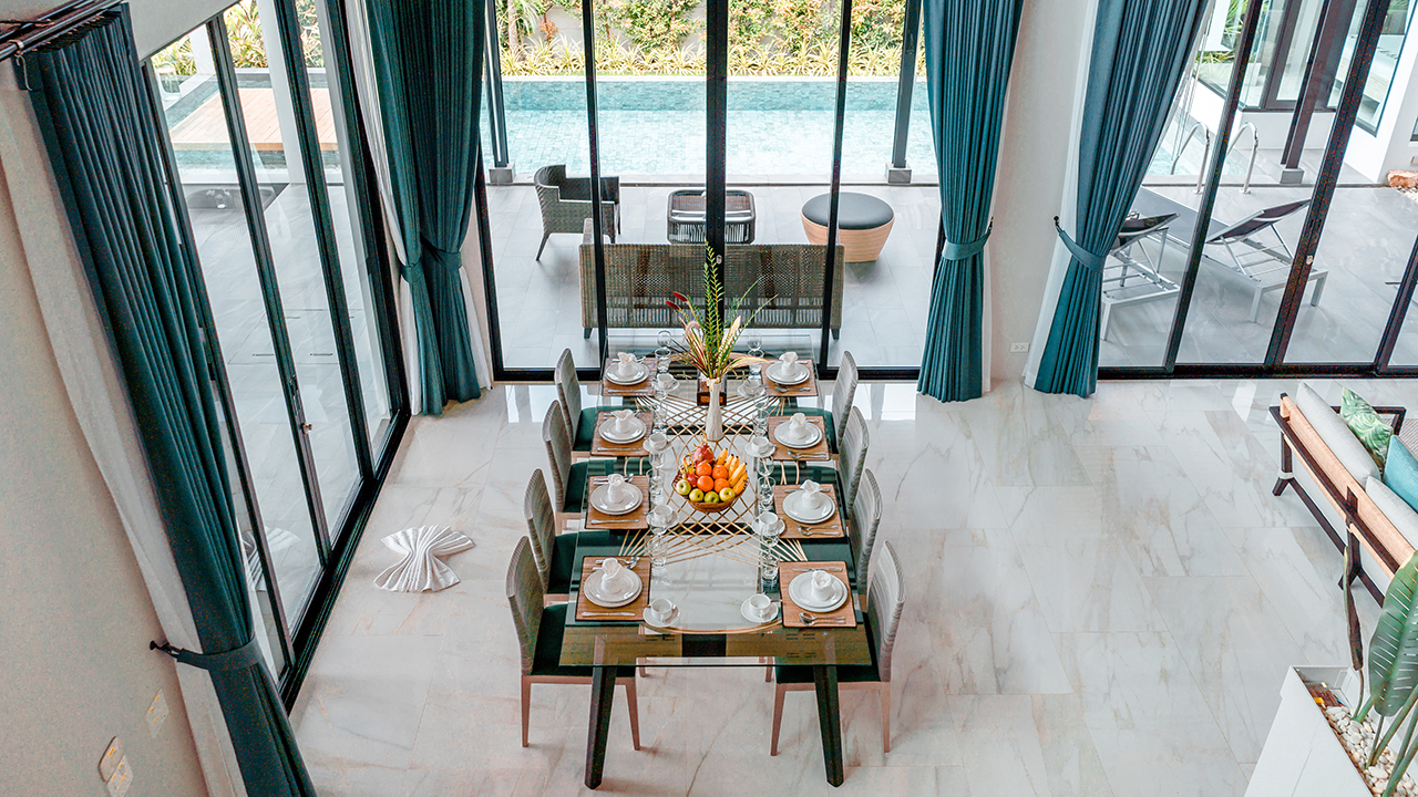 Baan Bua Varji is the Closest Villa Complex to Nai Harn Beach