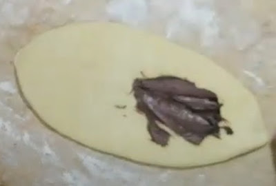خبيزات الحليب بالنوتيلا