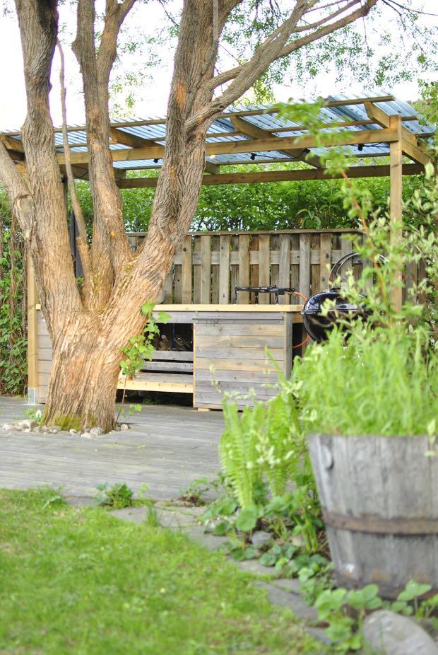 hannashantverk.blogspot.se utekök med tak trädgård