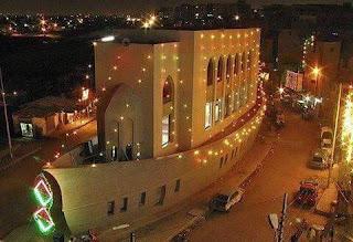 صوره رائعة لمسجد في كراتشي في باكستان