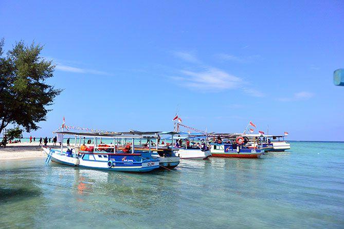 Sandar di Pulau Geleang Karimunjawa