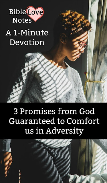 When we face injustice or suffering, we need to remember these principles and promises. #BibleLoveNotes #Bible #Devotions