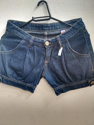 short jeans Doyga tamanho 16