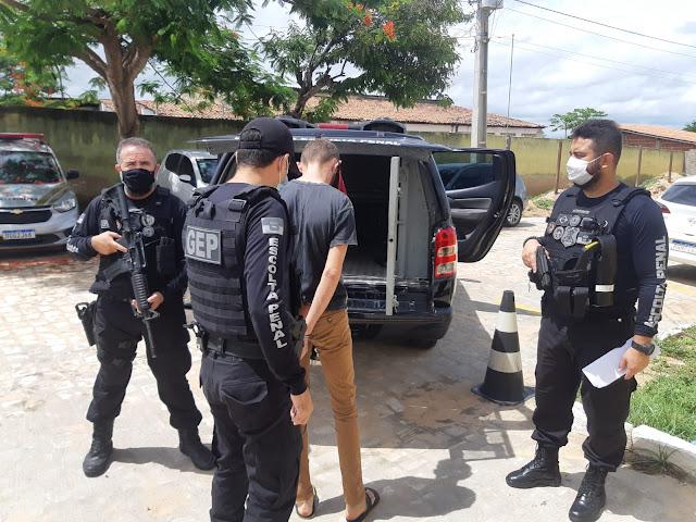 Polícia Penal captura detento que descumpriu regras do semiaberto no Oeste do RN