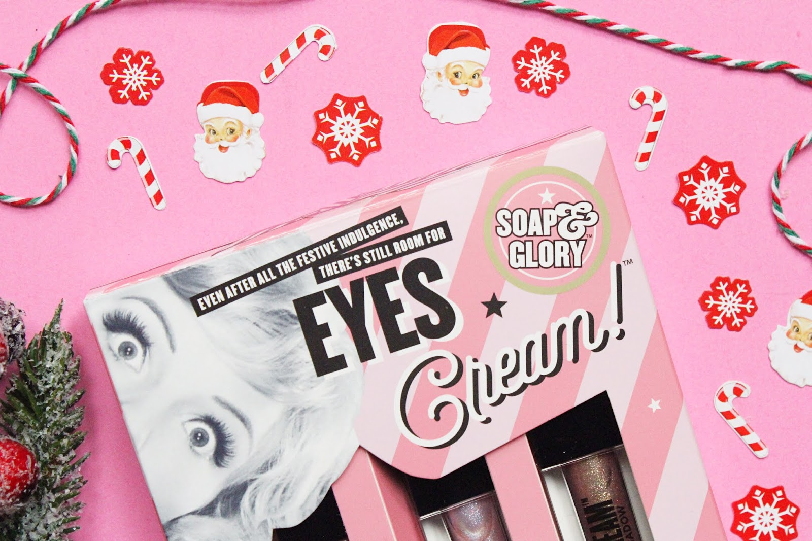 Soap and Glory Eyes Cream Liquid Eyeshadow Trio