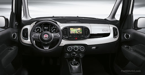 Fiat 500L Dash