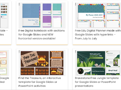 Tons of Pre-made Presentation Templates to Use in Your Instruction